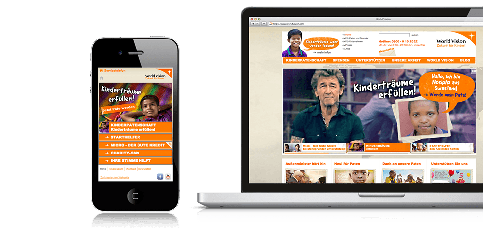 World Vision - website