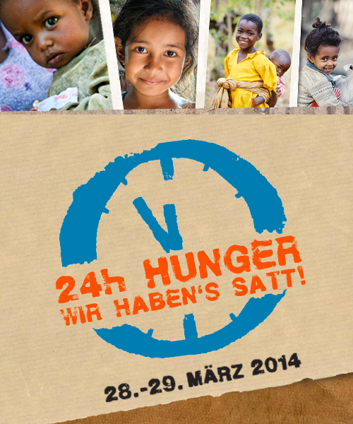 World Vision // Hunger 24  – Website
